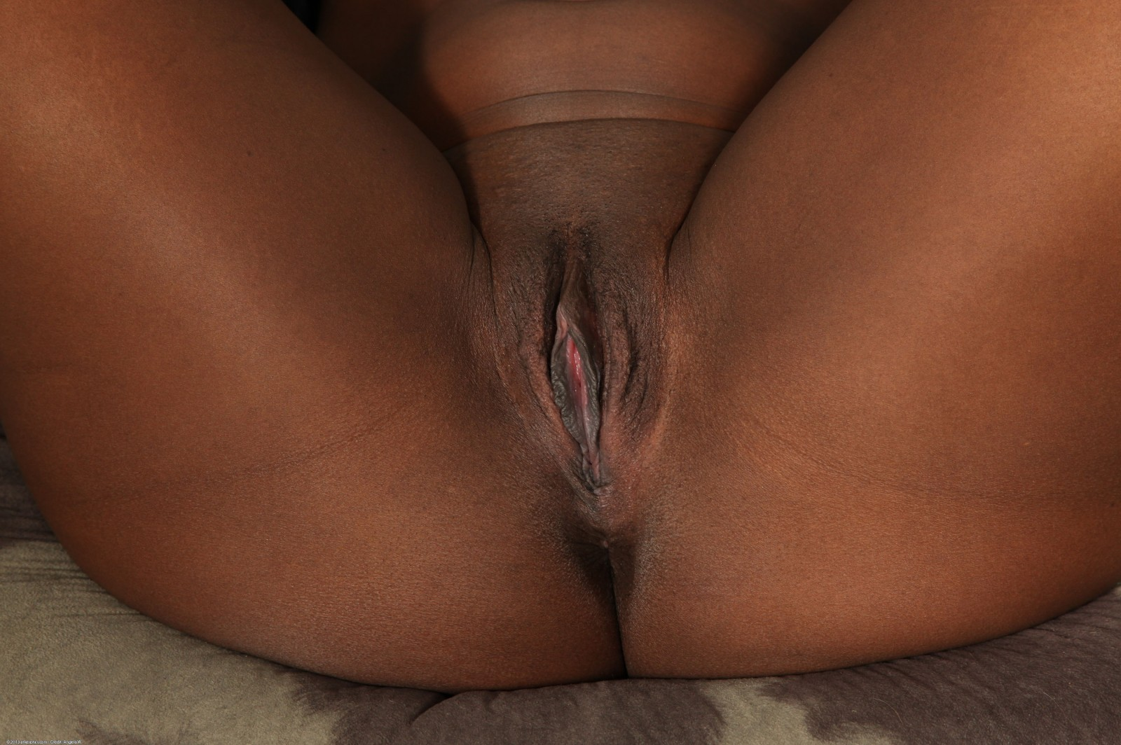 Black cock for a tight black pussy