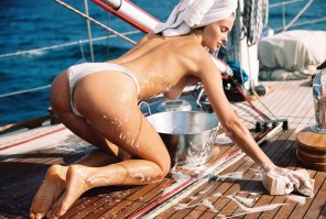 amateur photo Johanne Landbo is my fantasy shipmate