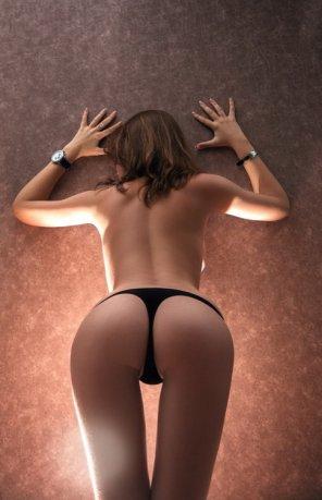 amateur photo Illuminated ass - nice ass