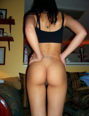 amateur photo There now, we both feel a lot better with that tight thong off you