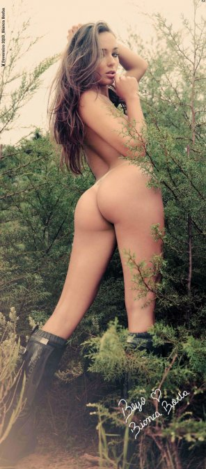 amateur photo Booty in the branches