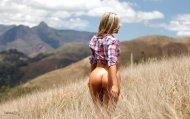 amateur photo Grass and Ass