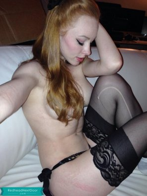 amateur photo Redheads are best without Photoshop
