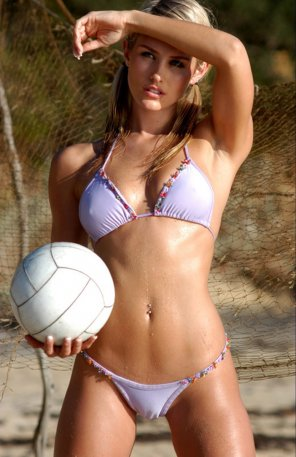 amateur photo Volleyball Babe
