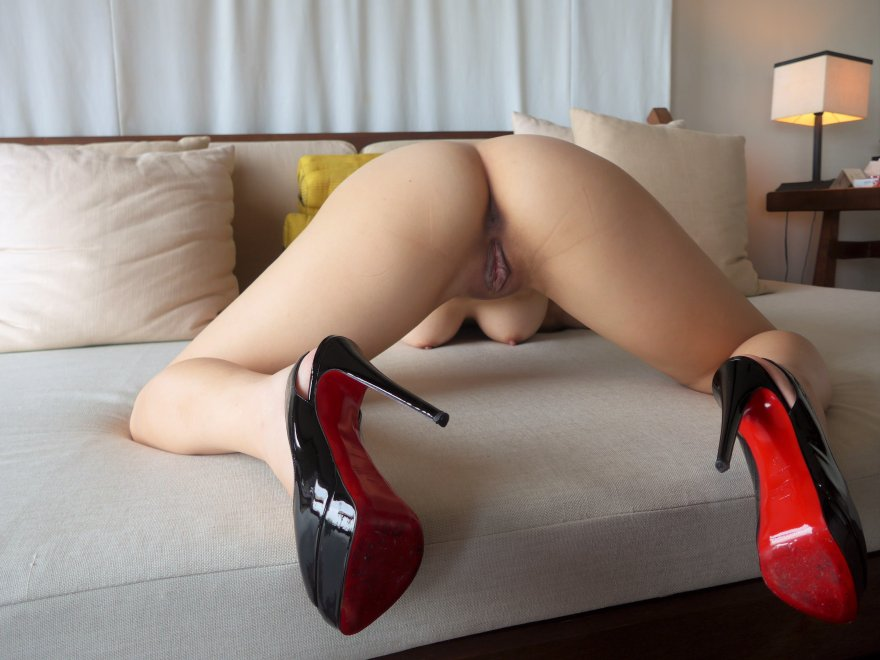 what wouldn't I do for some nice shoes? Porn Photo