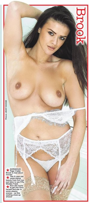 amateur photo Brook Wright for Page 3 today