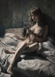 amateur photo Anastasia Shcheglova with wilted flowers