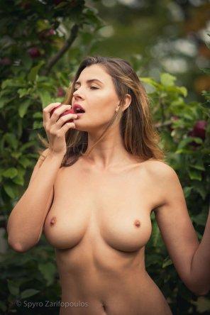 amateur photo Forbidden fruit