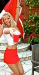 amateur photo Party in Red & White