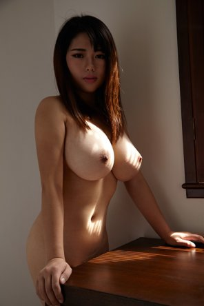 amateur photo Curvy Baby with Monstrous Naturals