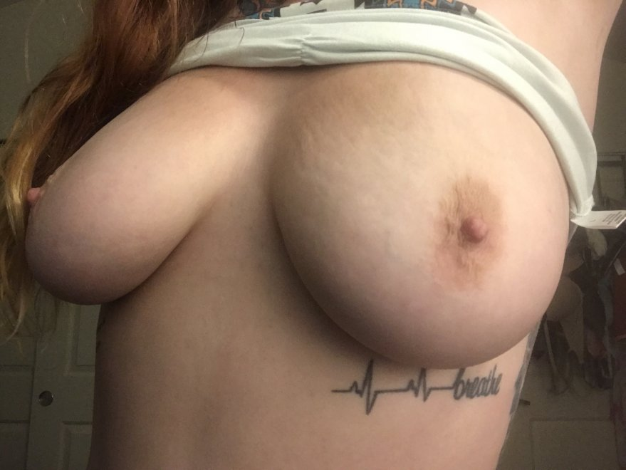 My big natural tits Porn Photo