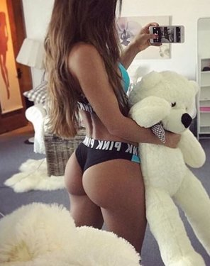 amateur photo White teddy