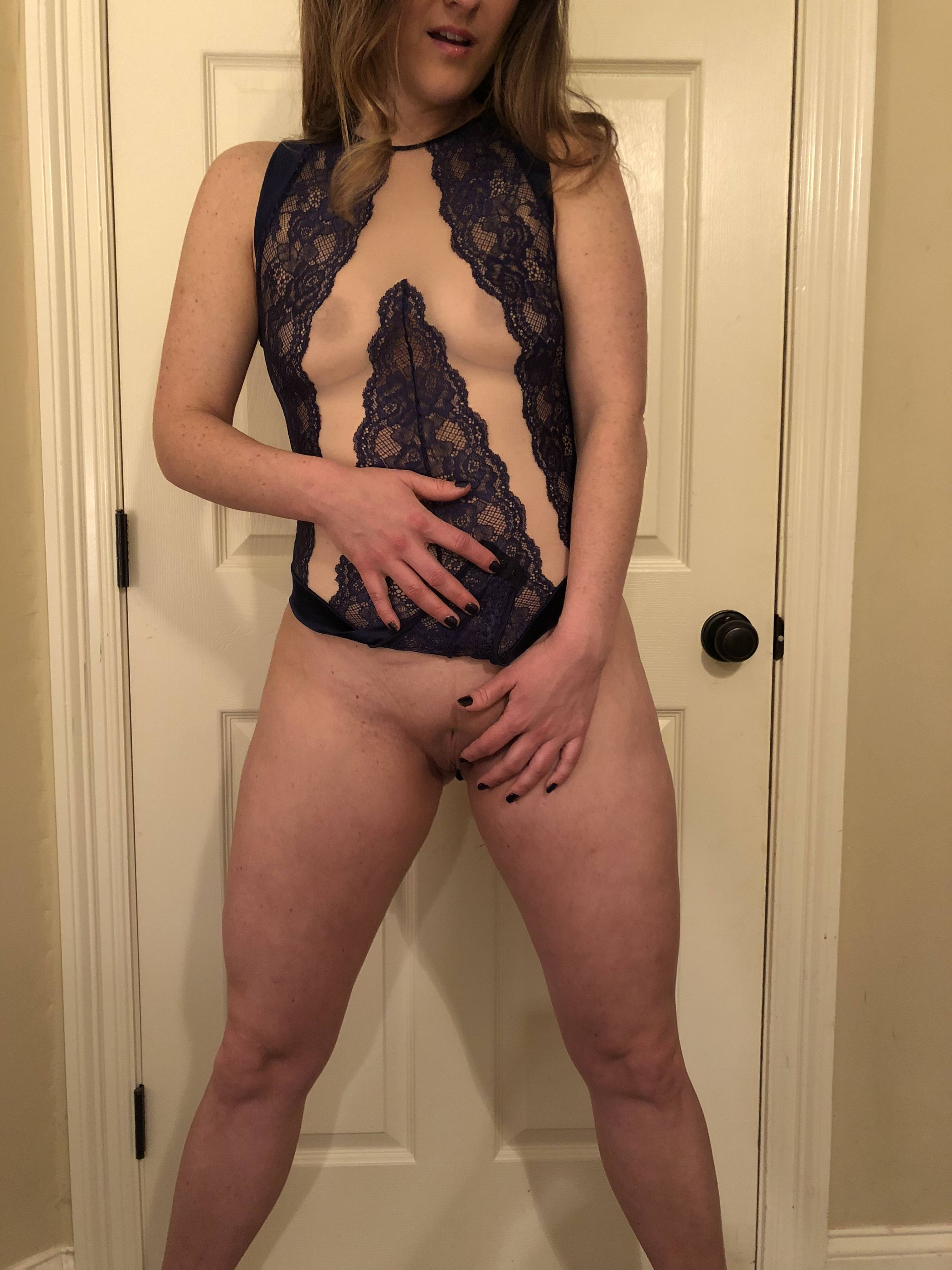 Amateur Pussy Lingerie Porn my new lingerie has a snap-open crotch! 32[f] porn pic - eporner