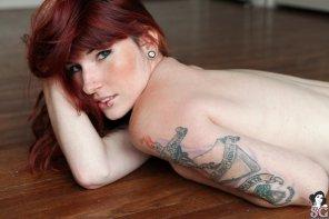 amateur photo Literary tattoo