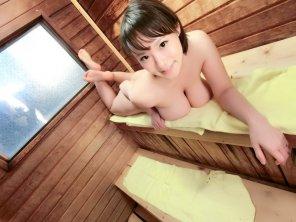 amateur photo Boobilicious cutie Kaho Shibuya