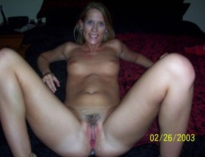 amateur photo Smiling wife