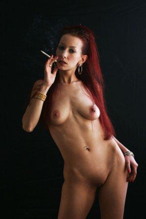 amateur photo Sexy Pierced Redhead