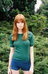 amateur photo Green suits her