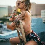 amateur photo Rooftop chair