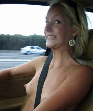 amateur photo It's important to always wear your seatbelt