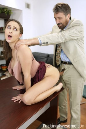 amateur photo Ashley Adams gets Fucked on a Desk
