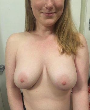amateur photo Ginger titty Tuesday [f]