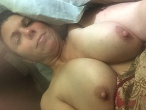 amateur photo Vickies Big Nipples