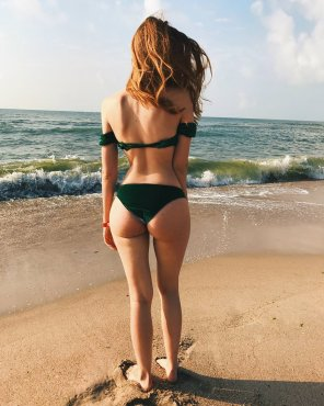 amateur photo Beach Butt