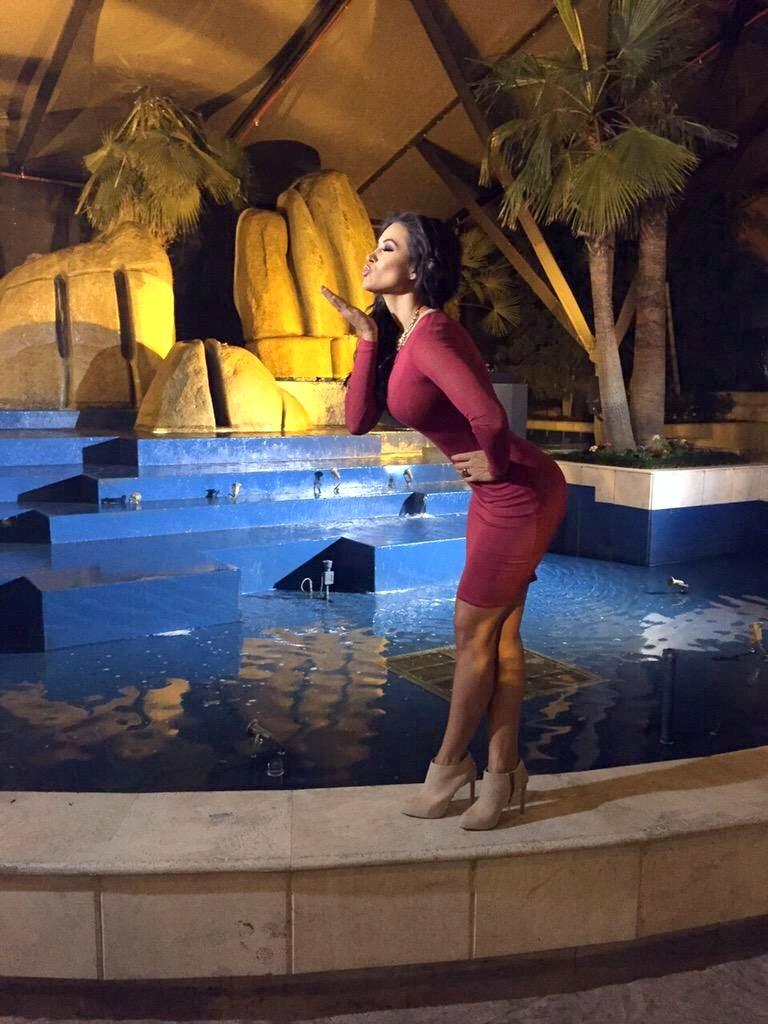 Bodycon dress porn Gina Holguan Crimson Bodycon Dress Porn Pic Eporner