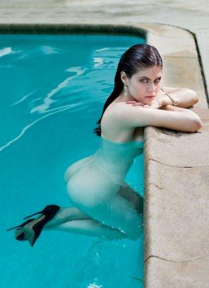 amateur photo Alexandra Daddario