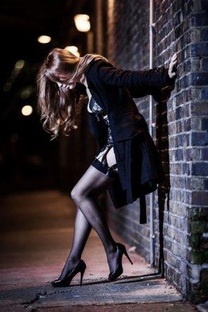 amateur photo Under the coat