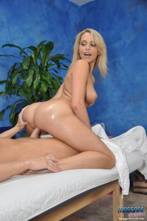 amateur photo Blonde pornstar Mia riding his cock