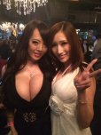 amateur photo Hitomi in a dress
