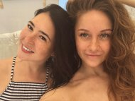 Olga With Friend