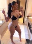 amateur photo Bursting out of her bikini