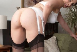 amateur photo Garterbelt and stockings