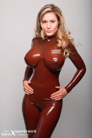 amateur photo Ankha Van Aiken in Latex