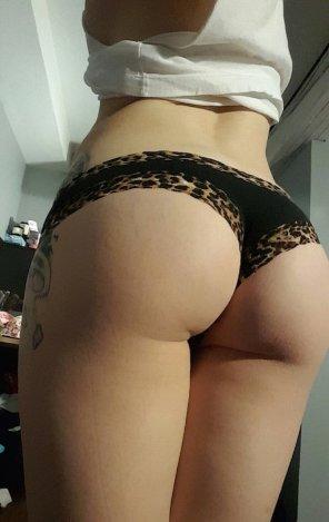 amateur photo Tiger Skin Pantie