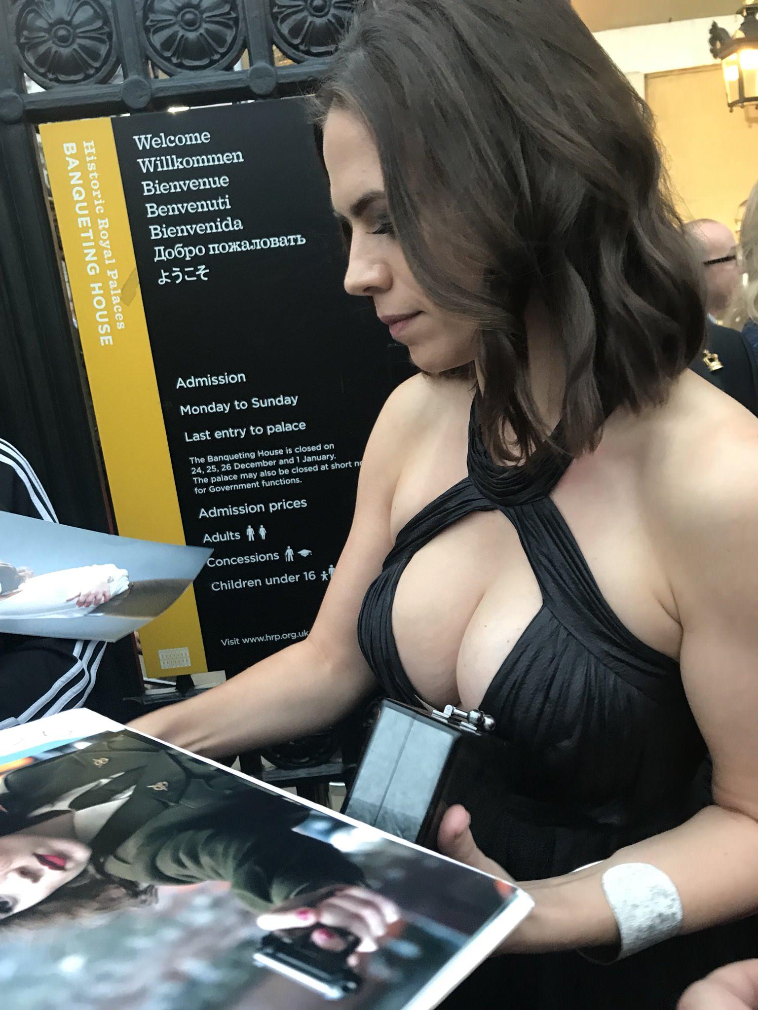 Atwell porn hayley Hayley Atwell