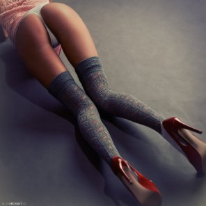 amateur photo Legs & stockings