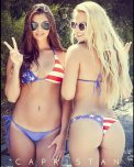 amateur photo American front, and American back