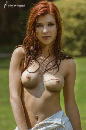 amateur photo Wet Ginger