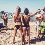 amateur photo Memorial Day brings the blondes to their natural habitat