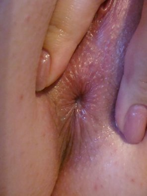 amateur photo Close up wet spread.