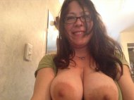 amateur photo Tittymom Big Areolas
