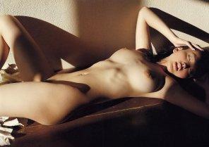 amateur photo Sensually Beautiful Big Breasted Reon Kadena