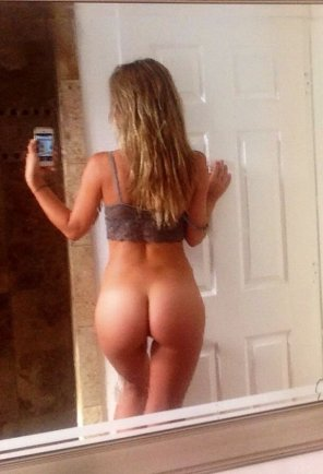 amateur photo Butt selfie