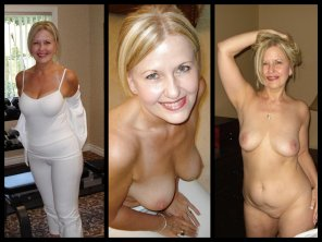 amateur photo Mature on/off