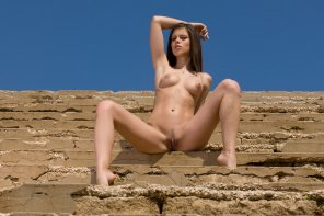 amateur photo Caprice in the sun