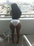 amateur photo Balcony Booty